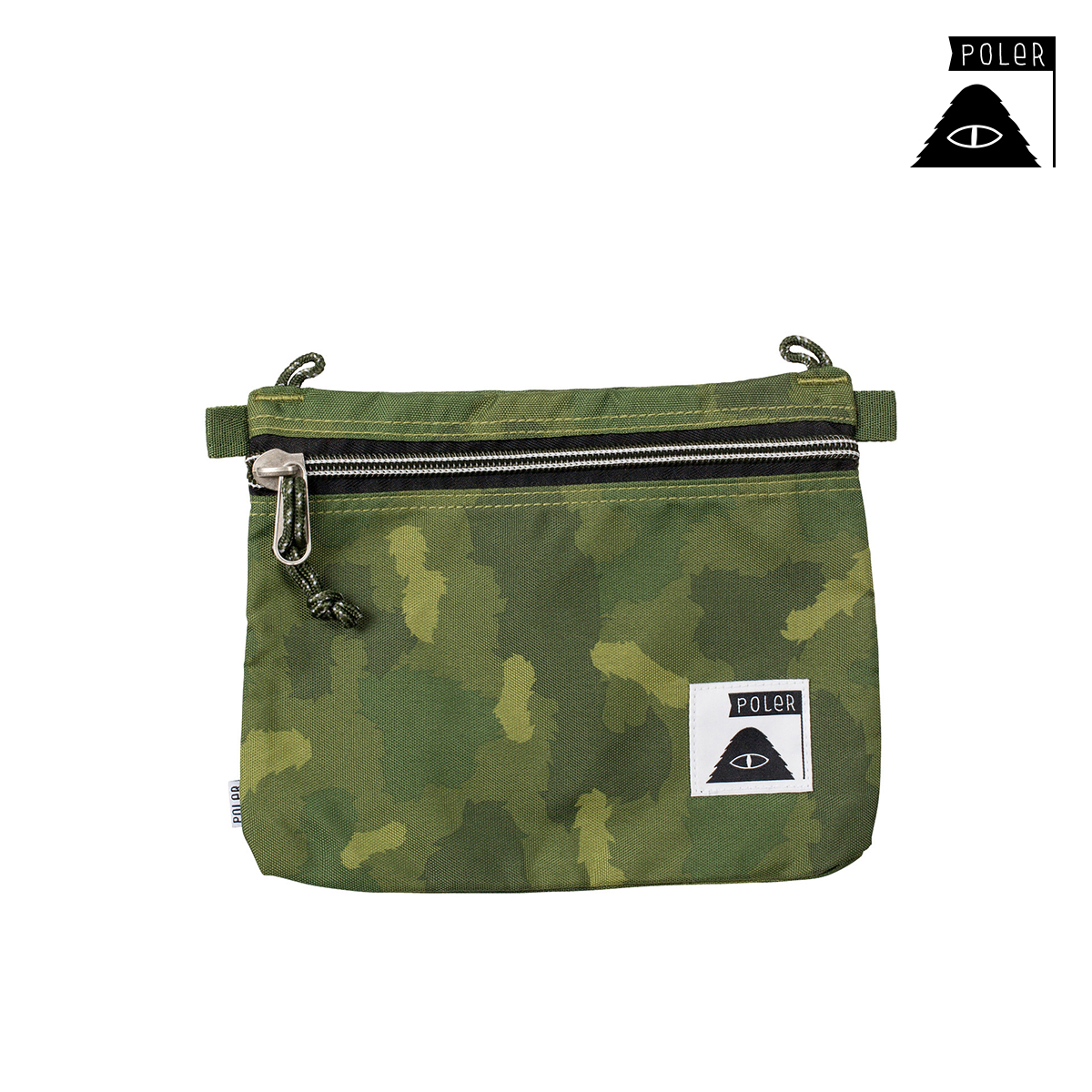 폴러 SMALLS CAMPDURA POUCH GREEN FURRY CAMO 13160007_GCO