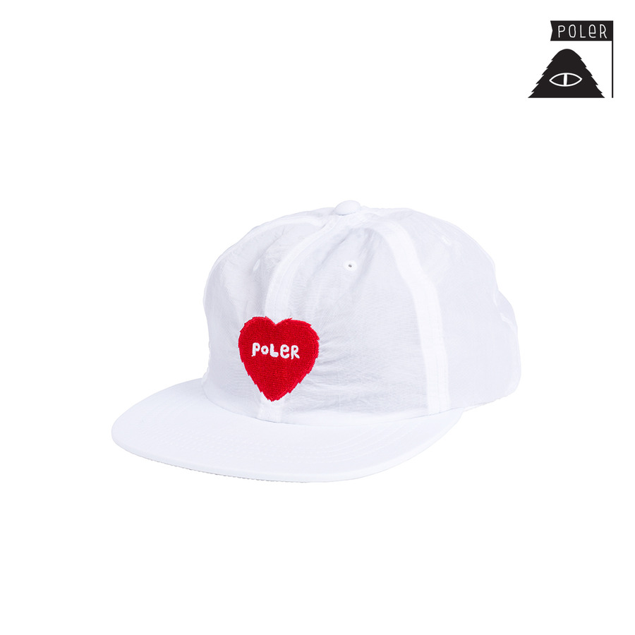 폴러 FURRY HEART NYLON FLOPPY 31730001_WHT